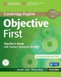 Objective First Fourth Edition Tch Book