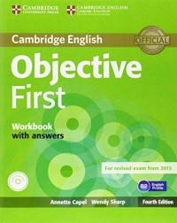 Objective First Workbook With Answers fourth ed.