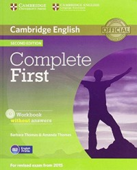 Complete FIRST workbook  Wo/Key 2015