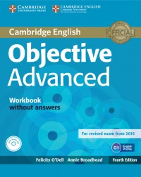 Objective Advanced 4 Th Ed Wb With Answers & Cd