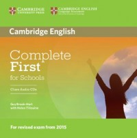 Complete First For Schools Class Cd