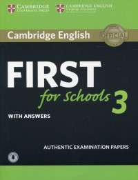 CAMBRIDGE ENGLISH FCE FOR SCHOOLS 3 SB WITH KEY