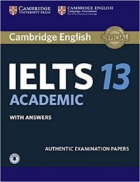 CAMBRIDGE IELTS 13 ACADEMIC STUDENT´S BOOK WITH ANSWERS