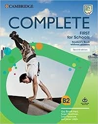 COMPLETE FIRST FOR SCHOOLS SB W/O ANSWERS WITH ONLINE PRACTICE