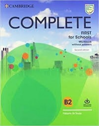COMPLETE FIRST FOR SCHOOLS WB WO KEY