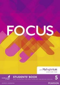 FOCUS 5 SB WITH MY ENGLISH LAB