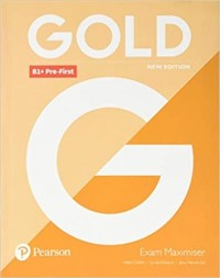GOLD PRE FIRST NEW EDITION EXAM MAXIMISER WO KEY