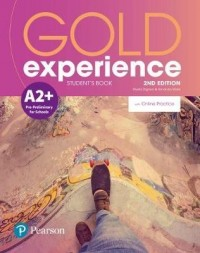 GOLD EXPERIENCE A2+ SB WITH ONLINE PRACTICE 2ND EDITION