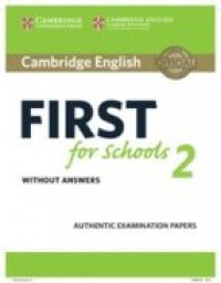 Cambridge English First Fors School 2 Wo/ Key