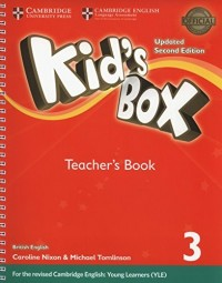 KID S BOX 3 TCH SECOND ED UPDATED FOR 2018 YLE EXAMS