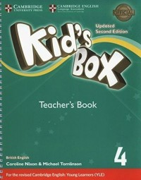 KID S BOX 4 TCH SECOND ED UPDATED FOR 2018 YLE EXAMS