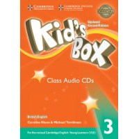 KID S BOX 3 CLASS CD SECOND ED UPDATED FOR 2018 YLE EXAMS