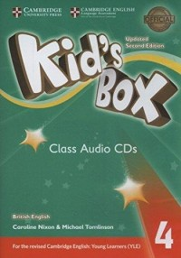 KID S BOX 4 CLASS CD SECOND ED UPDATED FOR 2018 YLE EXAMS