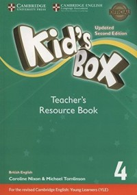 KID S BOX 4 TCH RESOURCE BOOK SECOND ED UPDATED FOR 2018 YLE EXAMS