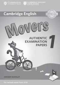 CAMBRIDGE ENGLISH MOVERS YLE 1 ANSWERS BOOKLET