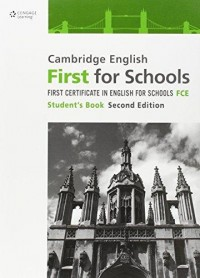 Cambridge English First For Schools Sb