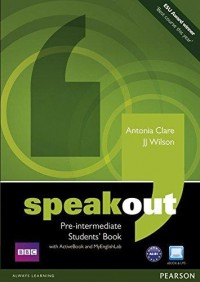 Speakout Pre Intermediate New Ed Book With My Lab