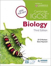 CAMBRIDGE IGCSE BIOLOGY THIRD EDITION SB + CD