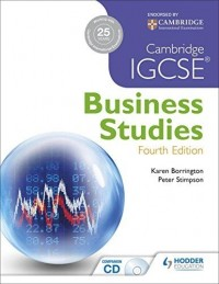 IGCSE BUSINESS STUDIES FOURTH EDITION