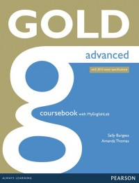 Gold Advanced Coursebook With My Lab