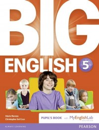 BIG ENGLISH 5 BOOK WITH MY LAB