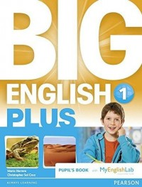 BIG ENGLISH PLUS BR 1 PUPIL´S BOOK WITH MEL