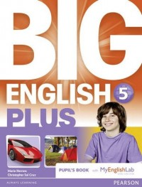 BIG ENGLISH PLUS BR 5 PUPILS BOOK WITH MEL