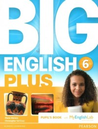 BIG ENGLISH PLUS BR 6 PUPILS BOOK WITH MEL