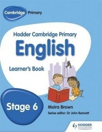 HODDER CAMBRIDGE PRIMARY ENGLISH STAGE 6 STUDENT´S BOOK