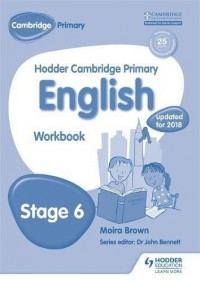 HODDER CAMBRIDGE PRIMARY ENGLISH STAGE 6 WORKBOOK