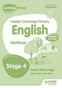 HODDER CAMBRIDGE PRIMARY ENGLISH STAGE 4 WB