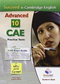 SUCCEED CAE 10 PRACTICE TESTS SB - WHITOUT KEY