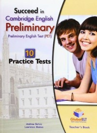 SUCCEED IN CAMBRIDGE ENGLISH PRELIMINARY TEACHER´S BOOK