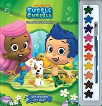 LIBRO DE POSTERS PARA PINTAR - BUBBLE GUPPIES