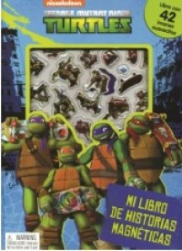 Mi Libro De Historias Magnéticas: Teenage Mutant Ninja Turtles
