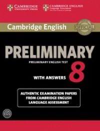 Cambridge English Pet 8 Bk With Key + Cd