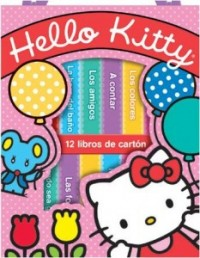 Hello Kitty - 12 Libros De Carton
