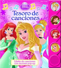 Tesoro De Canciones Disney Con Escenas Pop Up y Musica