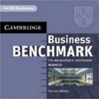 Business Benchmark Pre Intermediate Cd