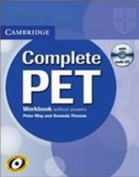 Cambridge Complete Pet Wb Wo-Key