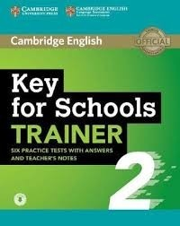 KEY FOR SCHOOLS TRAINER 2