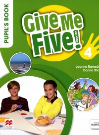 GIVE ME FIVE 4 PUPIL'S BOOK