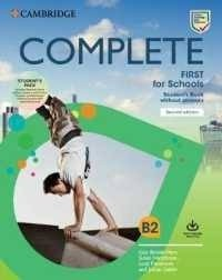 COMPLETE FIRST FOR SCHOOLS SB PACK