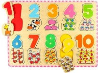 NUMBER AND COLOR MATCHING PUZZLE
