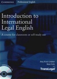 Introduction To International Legal English Sb
