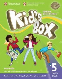 KID'S BOX 5 SB SECOND ED UPDATED FOR 2018 YLE EXAMS