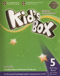 KID S BOX 5 WB SECOND ED UPDATED FOR 2018 YLE EXAMS