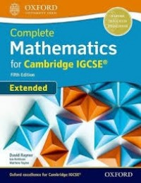 EXTENDED MATHEMATICS FOR CAMBRIDGE IGCSE FIFHT EDITION  SB