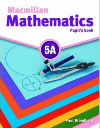 Macmillan Math 5A Pupil´S Book + Cd Rom
