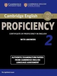Cambridge English Proficiency 2  Sb With Key